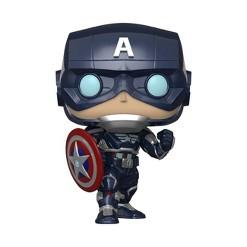 Funko POP! Marvel: Avengers Game - Captain American (Stark Stealth Suit)