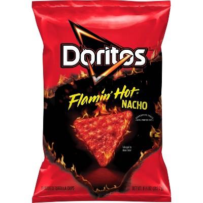 Doritos Flamin' Hot Nacho Cheese Tortilla Chips - 9.75oz