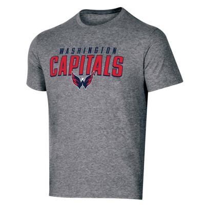 NHL Washington Capitals Men's Short Sleeve Heather T-Shirt