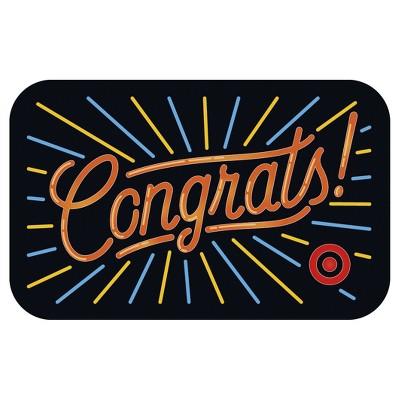 Congrats Neon Gift Card $25