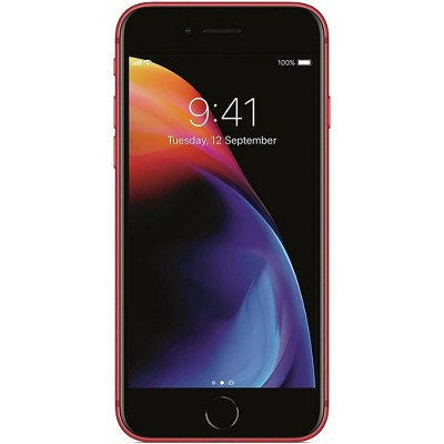 Apple iPhone Unlocked 8 Pre-Owned (256GB) GSM Phone - Red