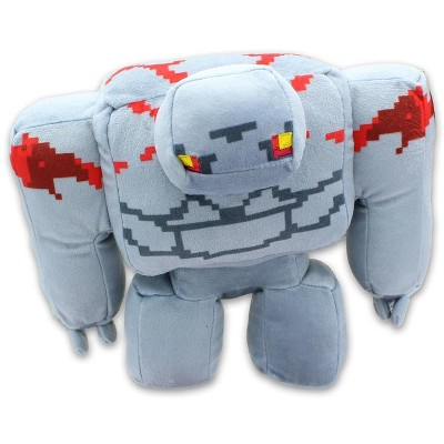 JINX Inc. Minecraft Dungeons Adventure Series 9 Inch Plush   Redstone Golem