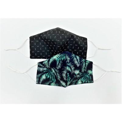 2pk Men's Fabric Face Masks - Goodfellow & Co™ Navy