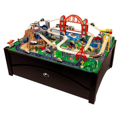 Kidkraft Metropolis Train Table And Set Target