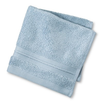 Spa Solid Washcloth Sky Blue - Fieldcrest®