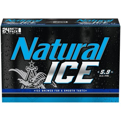 Natural Ice Beer - 24pk/12 fl oz Cans