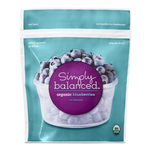 Organic Frozen Blueberries - 10oz - Simply Balanced™ - image 1 of 3