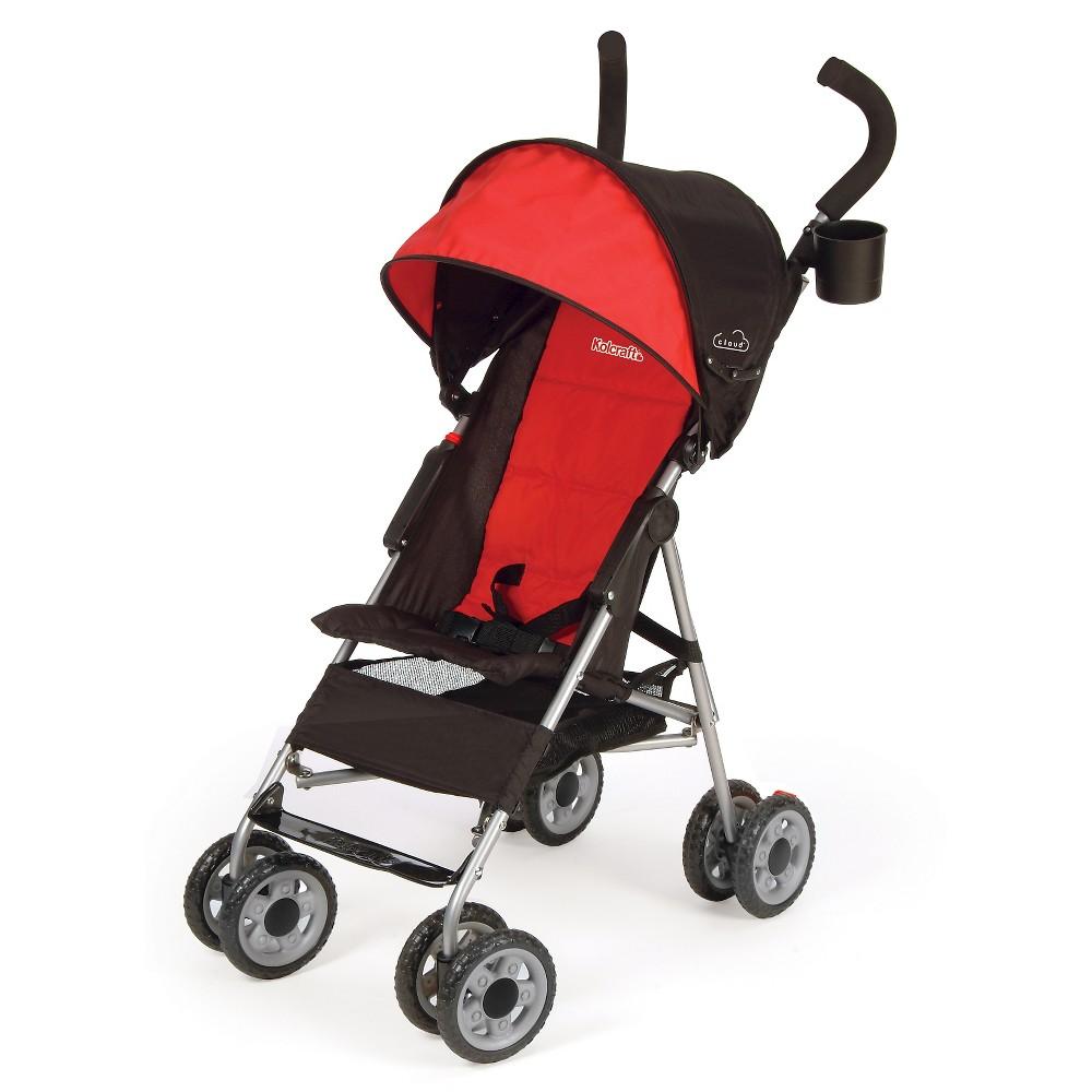 Image of Kolcraft Cloud Umbrella Stroller - Scarlet Red, Red Red