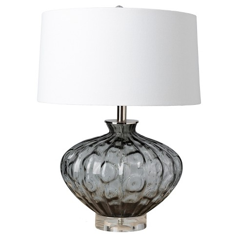 Luxborough Table Lamp Gray - Surya - image 1 of 2