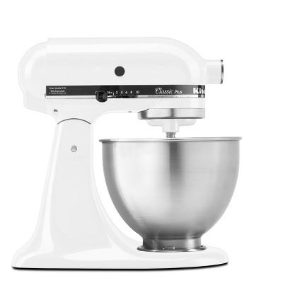 Kitchen Aid 4.5 Quart Tilt-Head Ten-Speed Countertop Stand Mixer in Onyx Black