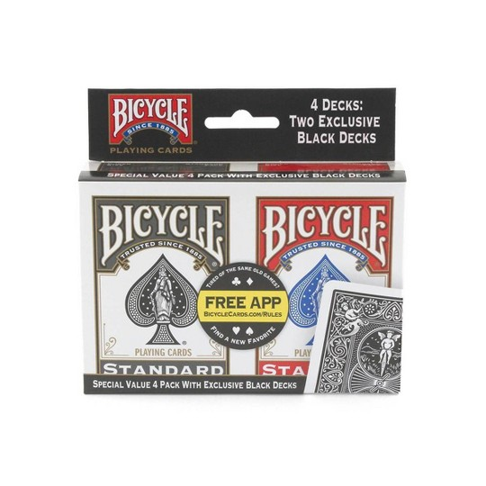Bicycle Play Card Game 4pk image number null