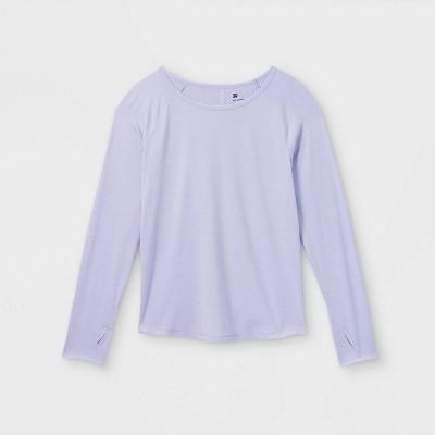 Girls' Long Sleeve Studio T-Shirt - All in Motion™