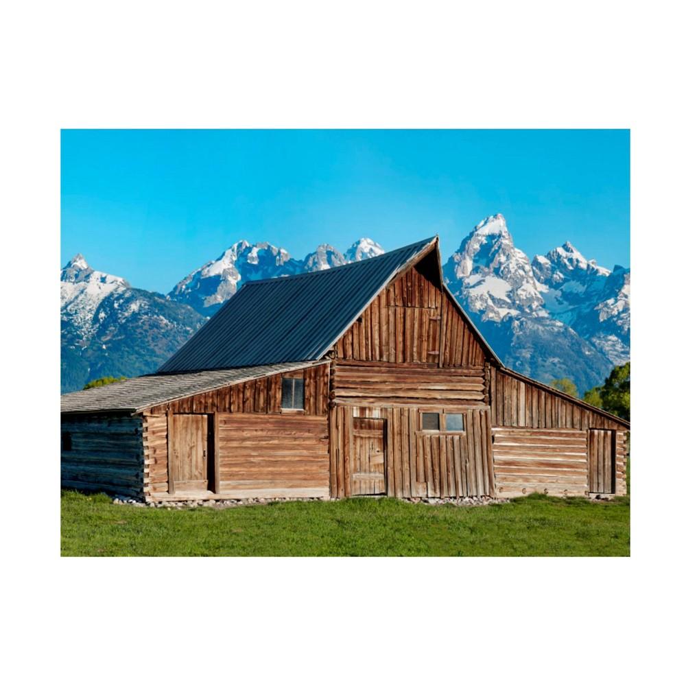 14 34 X 19 34 James Mcloughlin 39 Barn Scene X 39 Unframed Wall Canvas Trademark Fine Art