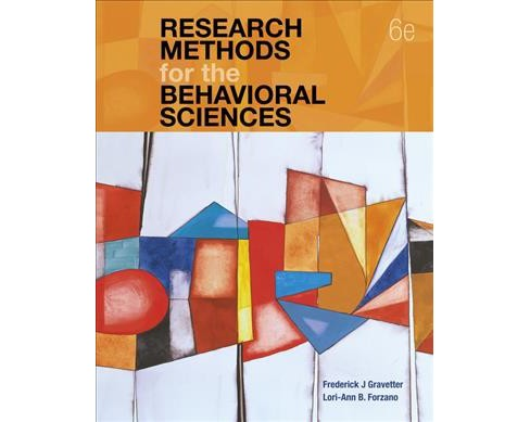 Research Methods for the Behavioral Sciences -  (Hardcover) - image 1 of 1