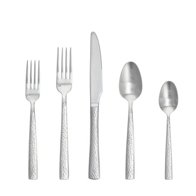 20pc Stainless Steel Rambla Silverware Set - Fortessa Tableware Solutions