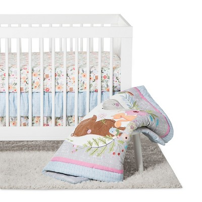 Trend Lab 6pc Crib Bedding Set - My Little Friends