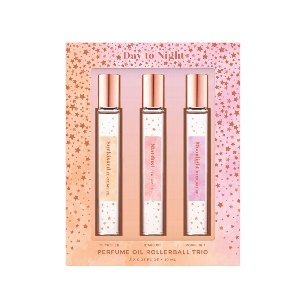 Everyday Fragrance Rollerball Trio - 3pc - Target Beauty