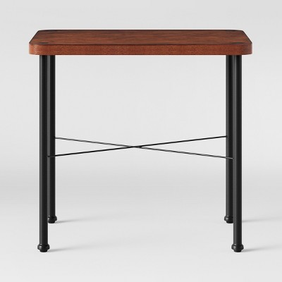 Goshen Wood & Iron End Table Brown - Threshold™