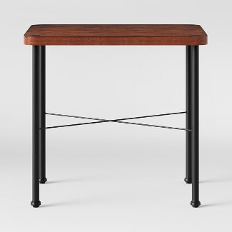 Goshen Wood & Iron End Table Brown - Threshold™