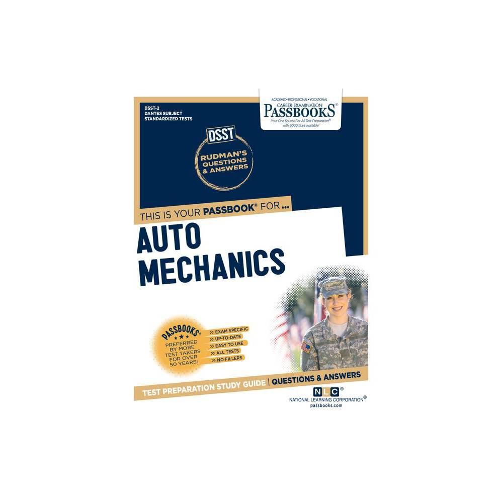 Auto Mechanics Volume 2 Dantes Subject Standardized Tests Paperback