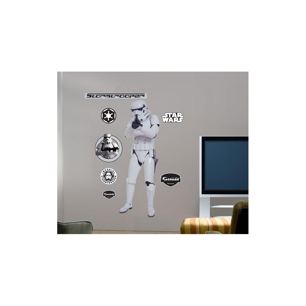 Star Wars Fathead Stormtrooper, Multi-Colored