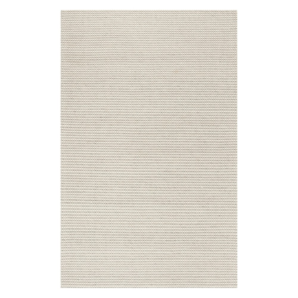 5'X8' Solid Woven Area Rug Silver/Ivory - Safavieh