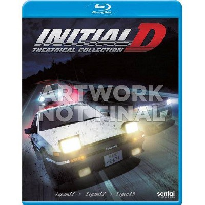 Initial D Legend: Theatrical Collection (Blu-ray)(2019)