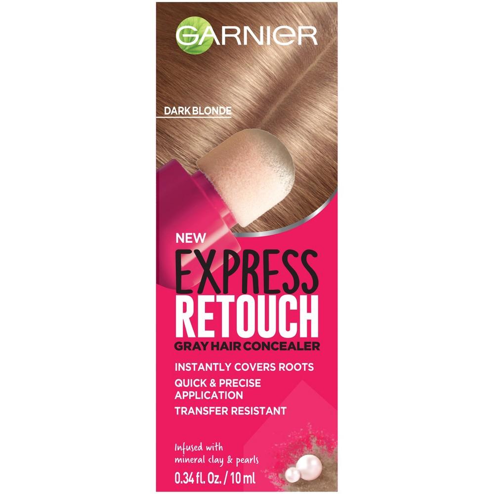 Image of Garnier Express Retouch Dark Blonde Gray Hair Concealer - 0.34 fl oz, Dark Yellow
