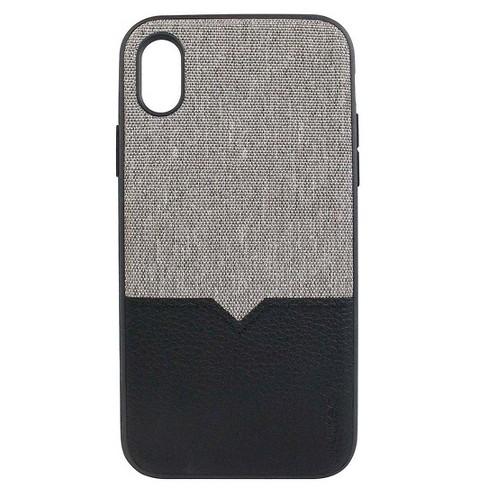 big sale 8e242 9f9fa Evutec Apple iPhone XS Max Northill Case (with Car Vent Mount) - Gray/Black