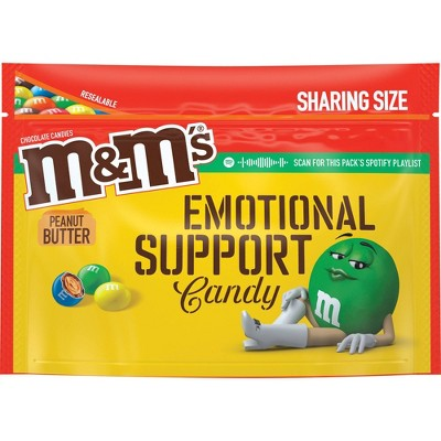 M&M's Peanut Butter Chocolate Candies - 9.6oz - Sharing Size