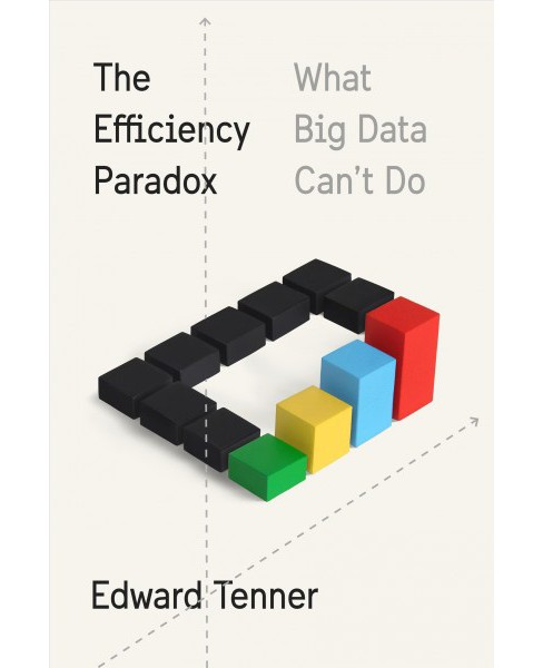Efficiency Paradox : What Big Data Can't Do -  by Edward Tenner (Hardcover) - image 1 of 1