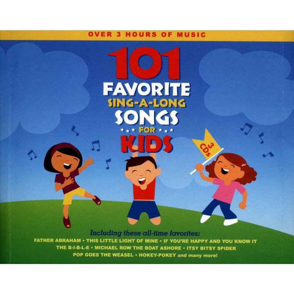 Songtime Kids - 101 Favorite Sing A Long Songs For Ki (CD)