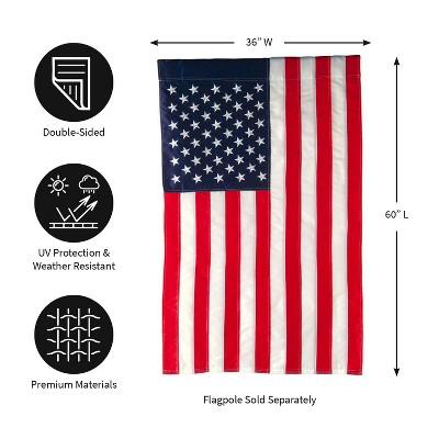 Evergreen Flag American Flag