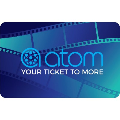 Atom Tickets Gift Card (Email Delivery)
