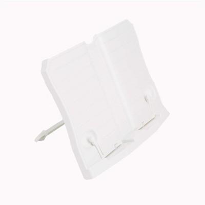 Mind Reader Portable Bookstand, White