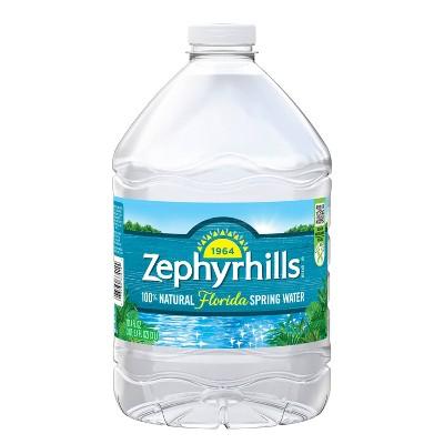 Zephyrhills Brand 100% Natural Spring Water - 101.4 fl oz Jug