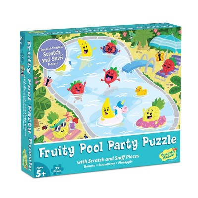 Mindware Fruity Poolside Scratch & Sniff Jigsaw Puzzle - 77pc