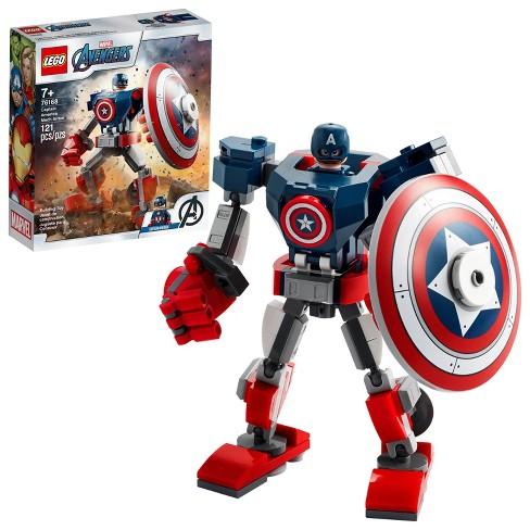 LEGO Marvel Avengers Classic Captain America Mech Armor 76168 - image 1 of 4