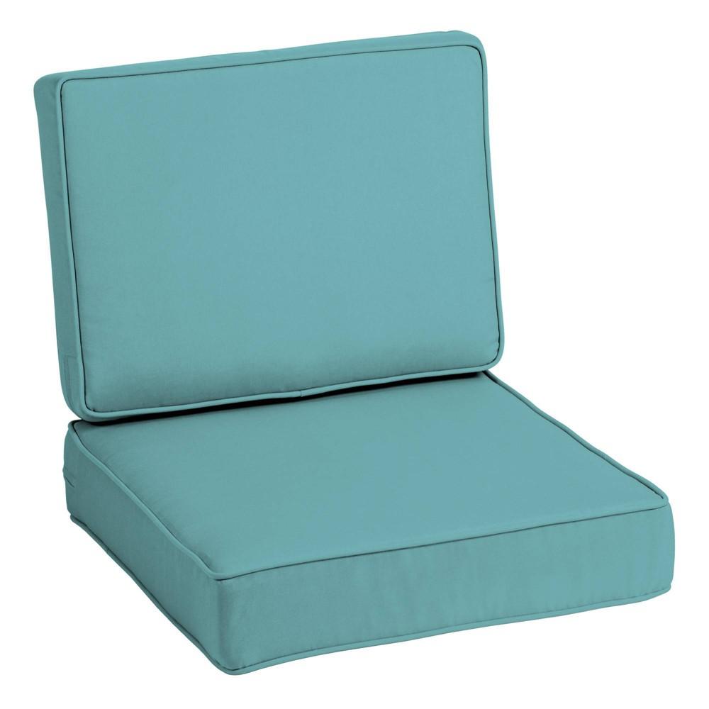 Profoam Acrylic Outdoor Deep Seat Cushion Set Surf Arden Selections