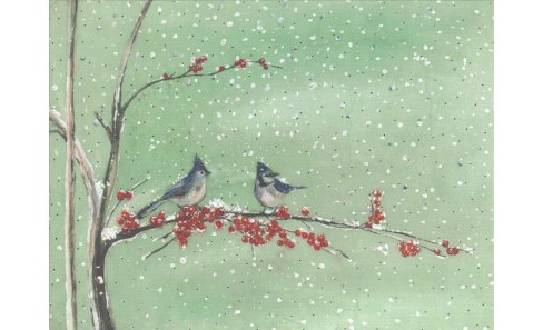 Birds & Berries Deluxe Holiday Cards -  (Stationery) - image 1 of 1