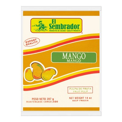 El Sembrador Frozen Pulp Mango - 14oz
