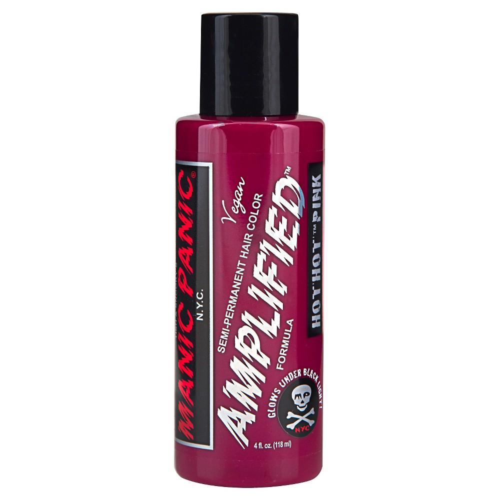 Manic Panic Semi-Permanent Hair Color Vegan Fantasy Colors Hot Hot Pink