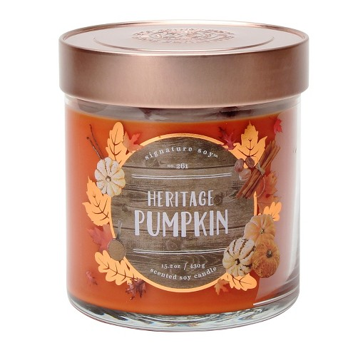 Jar Candle - 15.2oz - Heritage Pumpkin - Signature Soy - image 1 of 1