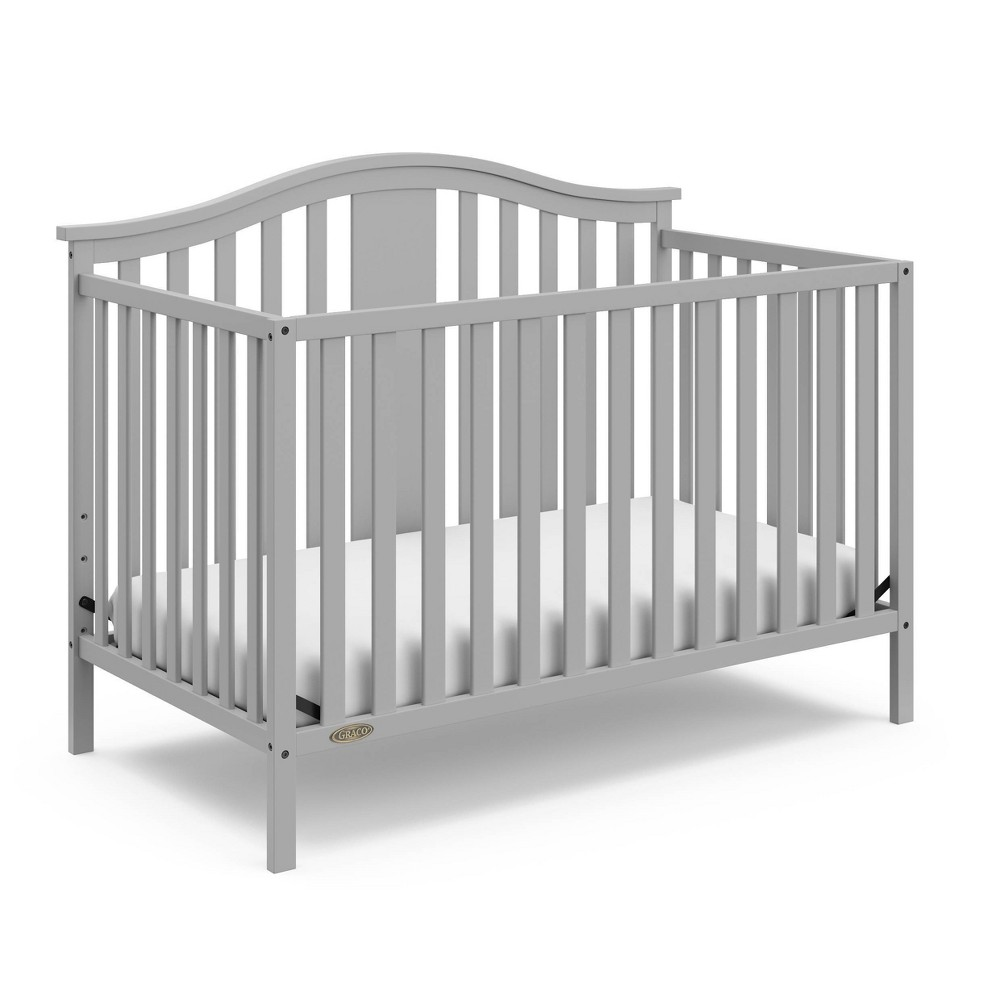 Graco Solano 4-in-1 Convertible Crib - Pebble Gray Discounts