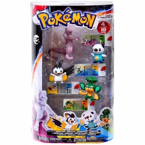 Pokemon Black and White Basic Mewtwo, Emolga, Oshawott and Pansage Figure 4-Pack - image 1 of 1
