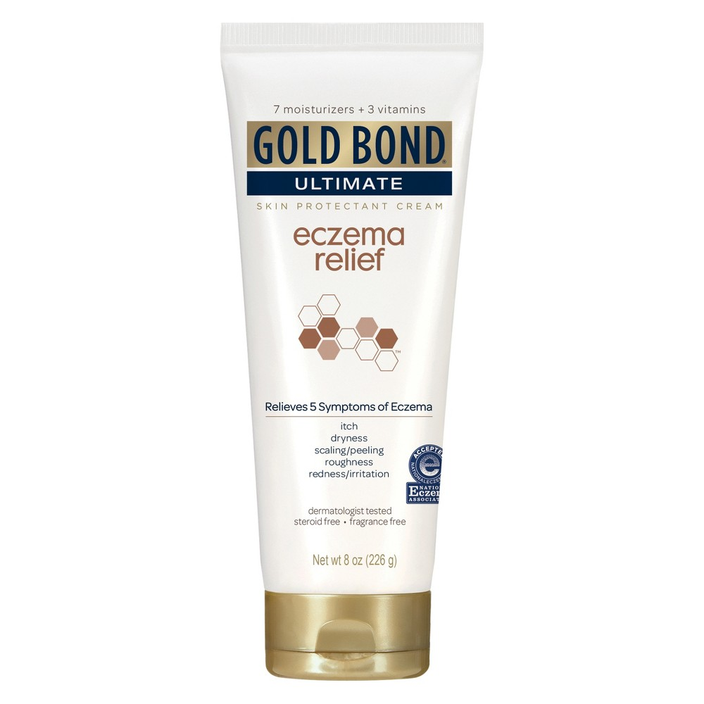 Image of Unscented Gold Bond Eczema Hand And Body Lotions - 8oz