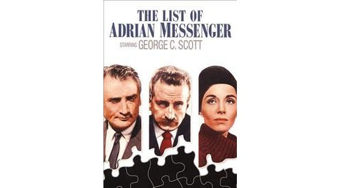 List Of Adrian Messenger (DVD) - image 1 of 1