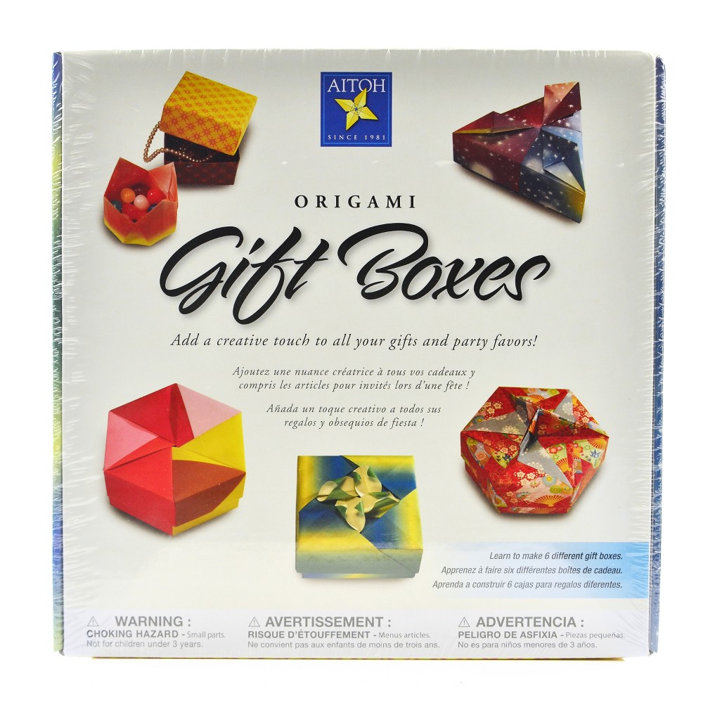 Image of Origami Gift Boxes Kit - Aitoh