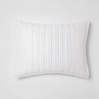 Standard Pillow Sham White - Makers Collective