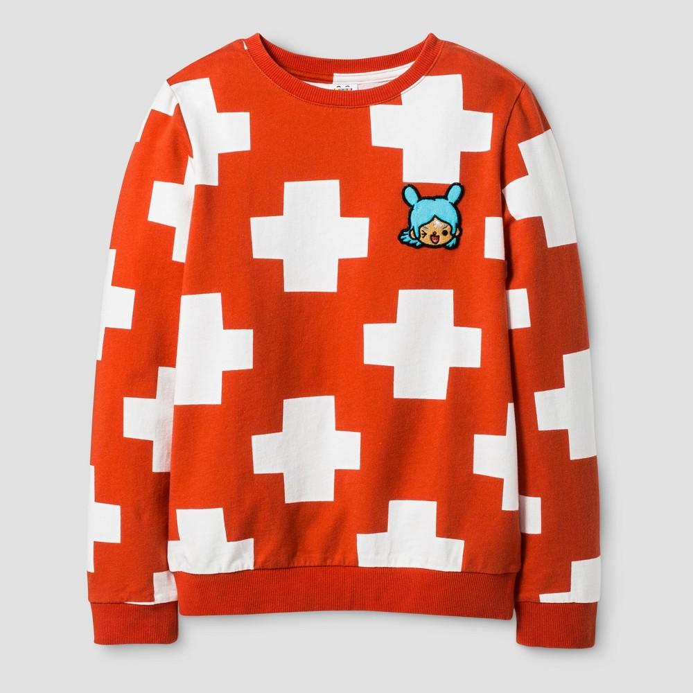 Girls' Toca Boca Sweatshirt - Orange L